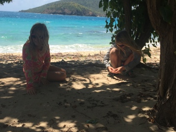 And then cooling off in Culebrita