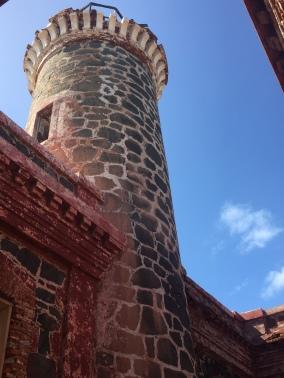 Abandoned lighthouse on Culebrita